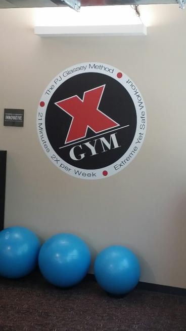 Wall Graphic for X-Gym Kirkland