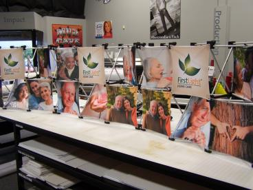 First Light Trade Show Display Vandalia Dayton Ohio