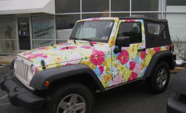 Lilly Pulitzer Jeep