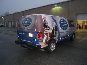 Full Vehicle Wrap - Ford E250