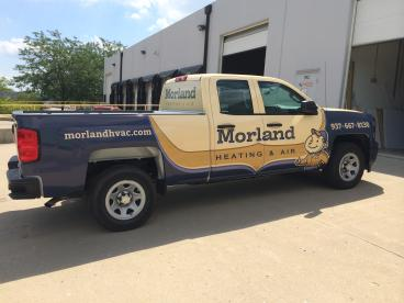 Morland Complete Vehicle Wrap Dayton Ohio
