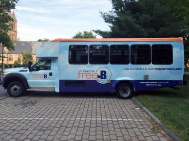 Bus Wrap and fleet graphics in Princeton, NJ