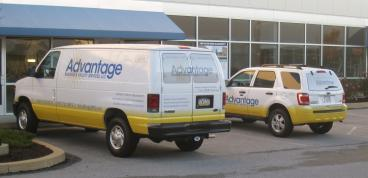Full Vehicle Wraps - Ford E250 and Ford Escape