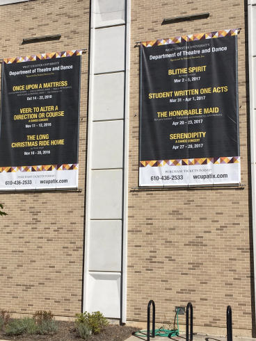 WCU 10' x 12' Mesh Banners