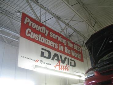 David Dodge - Service Garage Banner