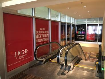 JACK Cleveland Casino - Window Graphics