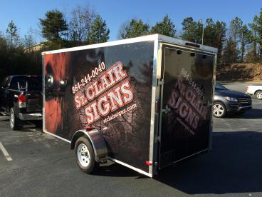 St. Clair Signs-Trailer, SpeedPro Greenville