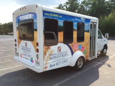 Greer Community Ministries, SpeedPro Greenville