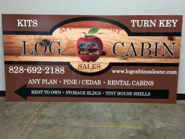 Apple Country Log Cabin Sales, SpeedPro Greenville