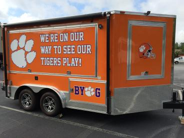 Clemson Tigers Trailer, SpeedPro Greenville