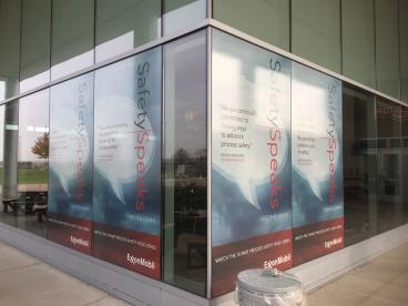 Window Graphics - Exxon Mobil