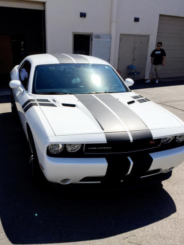 Dodge Challenger Striping