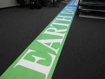 40 Foot Double Sided Street Banner for City of Renton