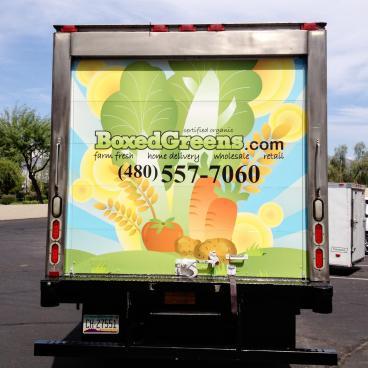 Boxed Greens Box Truck