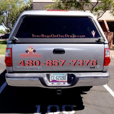 Pest Prevention Inc. Vehicle Wrap