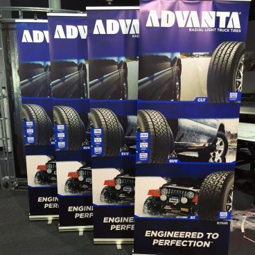 API Tire Trade Show Banners