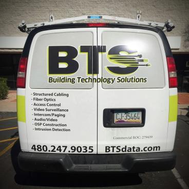 BTS Fleet Vehicle Graphics