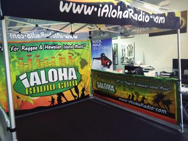 I Aloha Radio Event Tent
