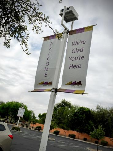 Foothills Baptist Church Pole Signs