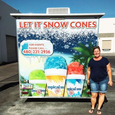 Let it Snow Cones LLC Booth