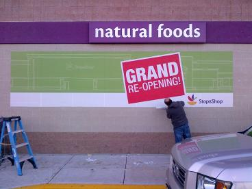 Wall Wrap-Stop & Shop
