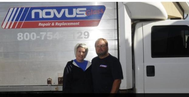 Dan and Joey Ross , Southwest Nebraska Novus Franchise owners