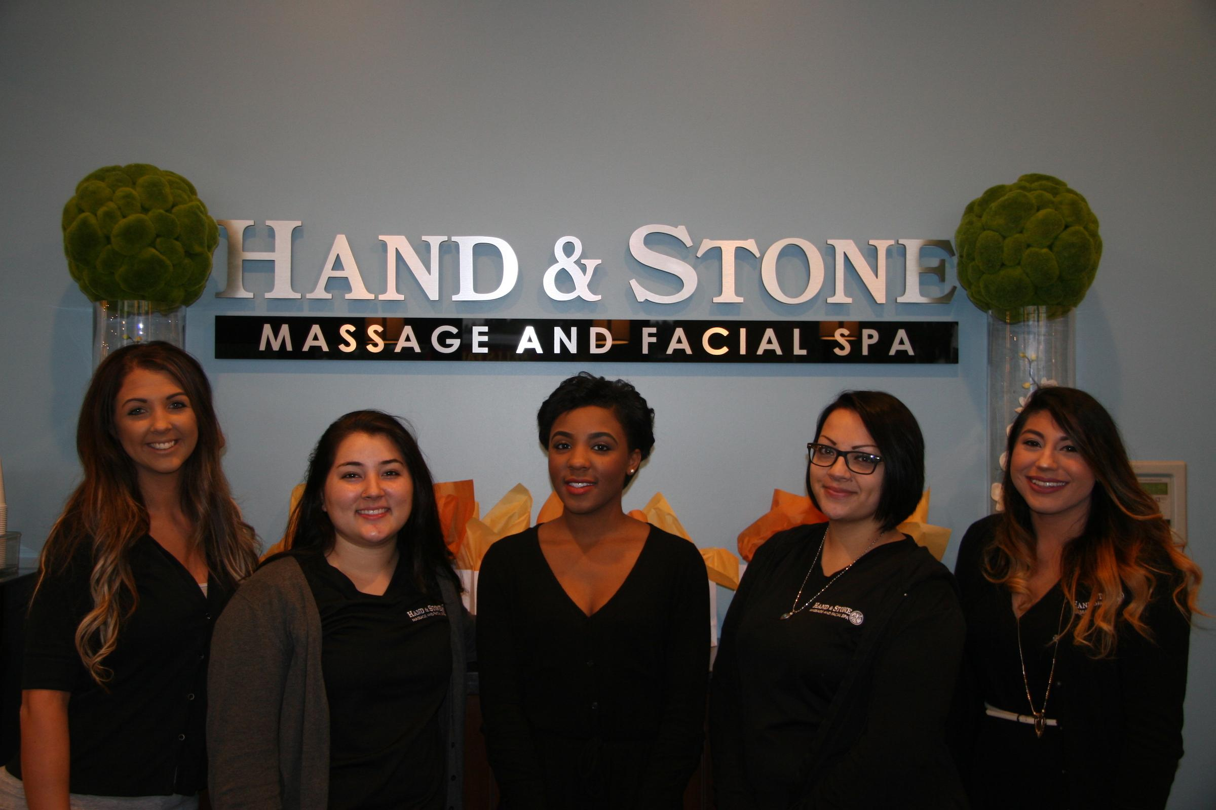 Hand & Stone Team