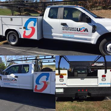 Truck Decals for Comfort Systems USA