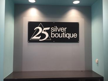 Store Sign - 25 Silver Boutique - Fox Valley Mall - Naperville