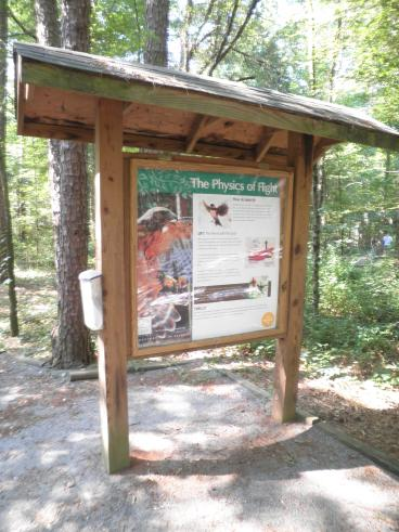 Outdoor Graphics at the Carolina Raptor Center, Charlotte, NC
