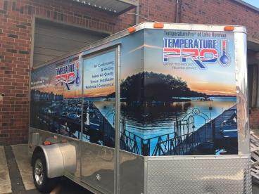 Trailer Wrap Completed in Charlotte