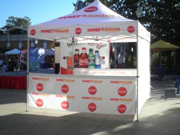 Display Tent - Branded