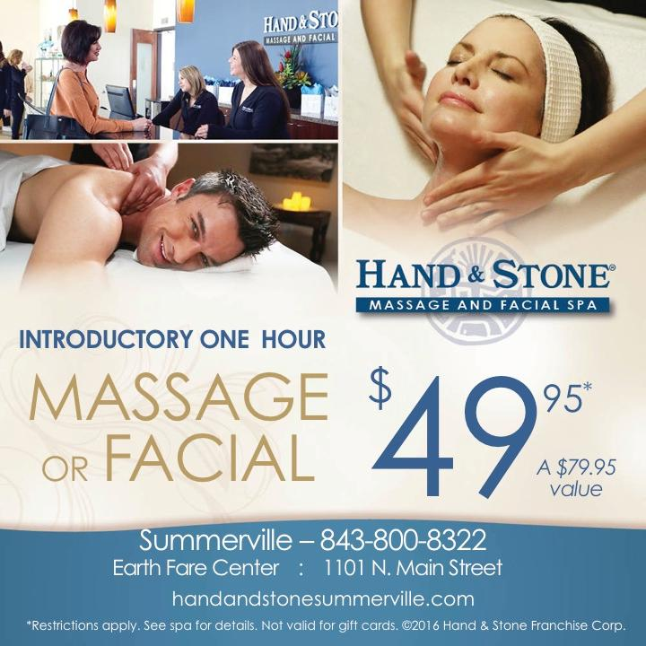 Intro Special Massage or Facial $49.95