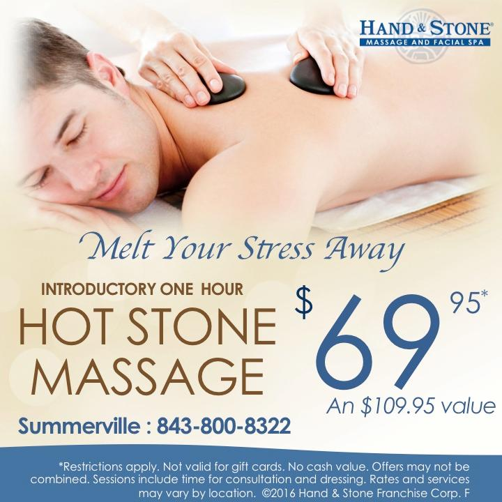 Intro One Hour Hot Stone Massage $69.95