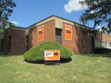 Princeton NJ YWCA Directional Outdoor Signage and Banners