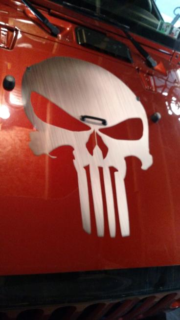 Jeep Hood Decal