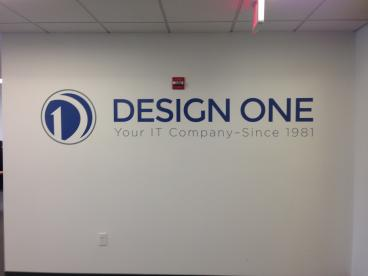Wall Mural for the Entrance of Design One
