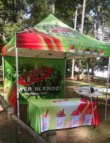 Tent and Table Graphics