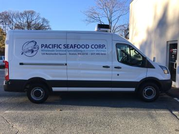 Pacific Seafood Vehicle Lettering