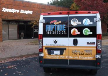 Riptide Restoration Vehicle Wrap