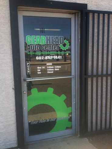Printed Door Graphics