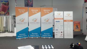 Capital Area Banner Stands