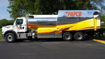 PAPCO Truck Wrap