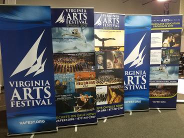 Virginia Arts Festival Retractables