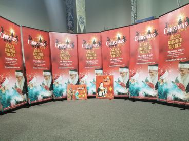 Dickens Christmastowne Banner Stands