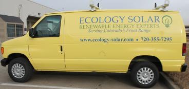 decals denver, CO ecology solar