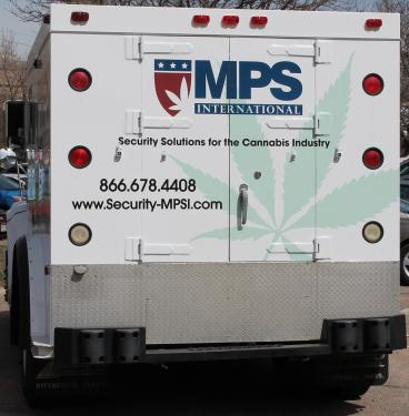 decal denver, CO MPS armoured truck