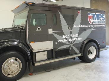 fleet wrap denver, CO MPS armoured car