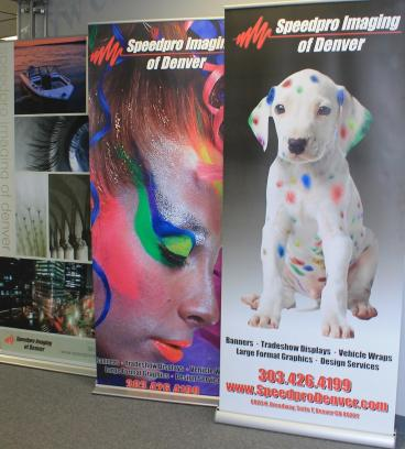 retractable banner speedpro denver, CO