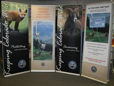 retractable banner denver, CO CCWild
